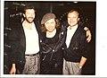 Eric Clapton, Sam and Phil Collins.jpg