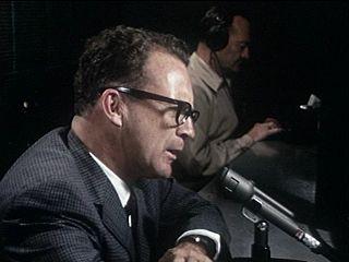 Ernie Harwell American sportscaster