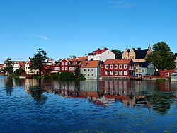 The Eskilstuna River and Eskilstuna Oldtown