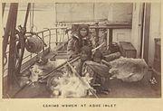 Eskimo Women at Ashe Inlet