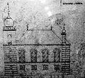 Essen, Synagoge in der Gerswidastra§e, Au frisszeichnung Seitenansicht von 1868.jpg