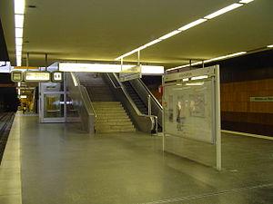 Mülheim (Ruhr) Hauptbahnhof - Stadtbahn platforms