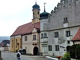 Essing Hl.Geist Kirche und Kolegialstift