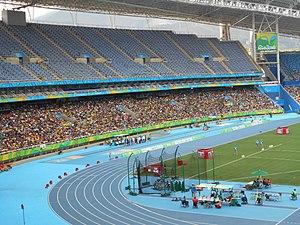 São Tomé and Príncipe at the 2016 Summer Olympics - Image: Estádio Olímpico (Engenhão) nos Jogos Paraolímpicos de 2016
