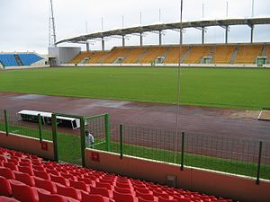 2015 Africa Cup of Nations - Image: Estadio de Malabo Equatorial Guinea