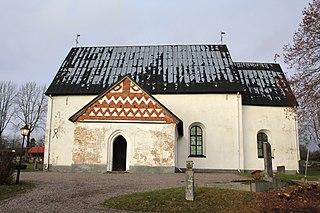 Estuna Church church building in Norrtälje Municipality, Stockholm County, Sweden