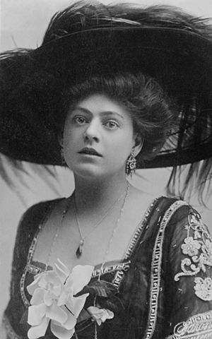Ethel Barrymore - Early portrait circa 1908
