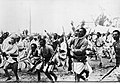 Ethiopian Warriors on their way to the Northern Front.jpg