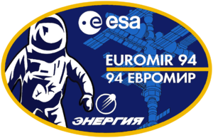 Euromir - Image: Euromir 94 mission patch