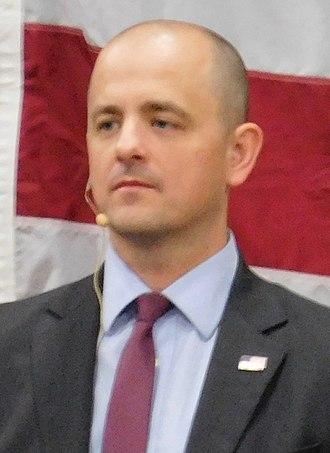 2016 United States presidential election in Utah - Image: Evan Mc Mullin 2016 10 21 headshot