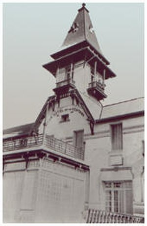 Club Hotel de la Ventana - Club Hotel de la Ventana, shortly after its 1911 opening