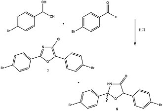 Fischer oxazole synthesis - Example of a Fischer Oxazole Synthesis