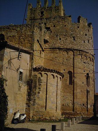Sant Miquel de Fluvià - Parish church