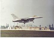 F-16 Falcon Landing