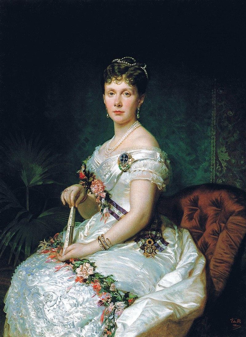 F. de Madrazo - 1880, La infanta Isabel de Borbón (Palacio Real de Madrid, 132 x 97 cm).jpg