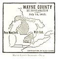 FARMER(1884) p173 MAP OF COUNTRY BOUNDARY - NO. 9 (1817).jpg