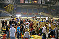 FEMA - 40447 - Residents and volunteers sand bagging at the Fargodome in Fargo, ND.jpg