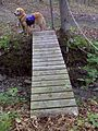 FLT M12 5.4 mi - Bridge, 1x6x28 deck boards, two 4x3 stringers, 10' long, 4.5' to drainage - panoramio.jpg