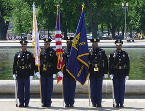 Federal Protective Service (United States) - United States Federal Protective Service color guard