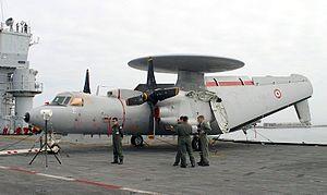 Flottille 4F - A E-2C Hawkeye in 2004