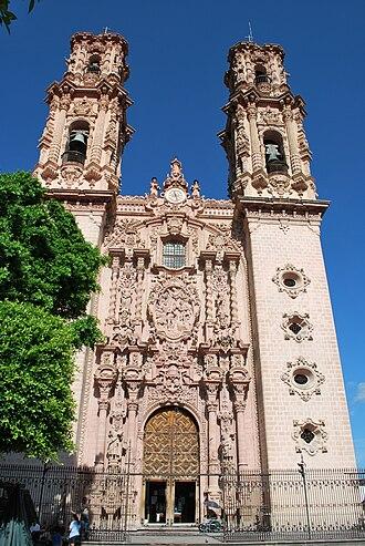 Guerrero - Santa Prisca church in Taxco