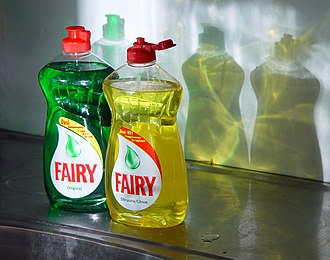 Fairy (brand) - Two bottles of Fairy