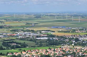 Energy in France - Wind turbines in Lower Normandy