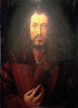 Art forgery - Forged self-portrait of Albrecht Dürer.