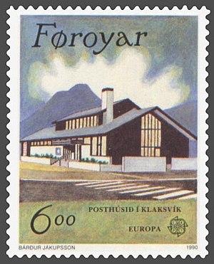 Posta (company) - Modern Post Office in Klaksvík.