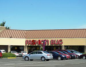 Charming Shoppes - A Fashion Bug store at a strip mall in Hillsboro, Oregon