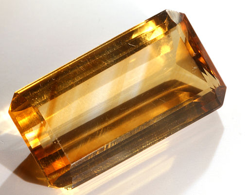 Fausse citrine
