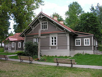 A small convent house where Faustina lived in Vilnius Faustyna Kowalska-Wilno.JPG