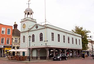 Faversham town in the English county of Kent