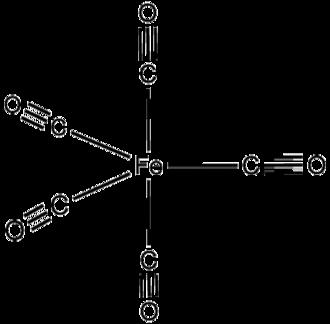Iron pentacarbonyl - Image: Fe(CO)5
