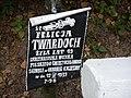 Felicja Twardoch 19 lat sanitariuszka WP. Świętochłowice. Poległa w Obronie Polski 12.09.1939. Rotunda Zamość.jpg