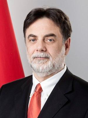 Tamás Fellegi - Image: Fellegi Tamas Portrait
