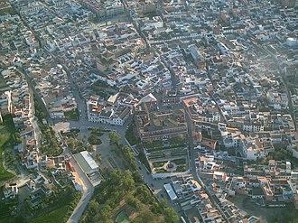 Fernán Núñez - Aerial view of Fernán Núñez.