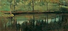 Unbewegtes Wasser, 1894, Belvedere, Wien (Quelle: Wikimedia)