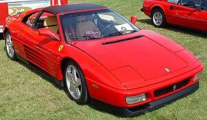 Ferrari 348 - Ferrari 348 ts, pre-facelift model