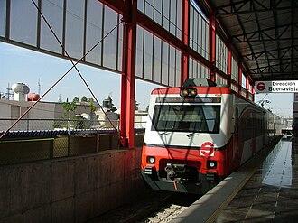 Suburban Railway of the Valley of Mexico Metropolitan Area - Cuautitlán Station