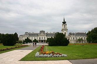 Keszthely - Image: Festetics kastely