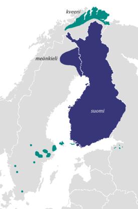 Virallinen kieli Vähemmistökieli