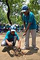 Fire-making - Survival Programme - Summer Camp - Nisana Foundation - Sibpur BE College Model High School - Howrah 2013-06-09 9656.JPG