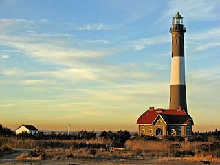 Fire Island Lighthouse lighthouse in New York, United States