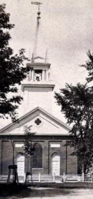 Former First Baptist Church (Skowhegan, Maine) - Image: First Baptist Church Skowhegan ME