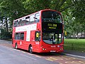 First London double decker on Route 308 Volvo B7TL LK04 HYP - Olympic games change (7657343924).jpg