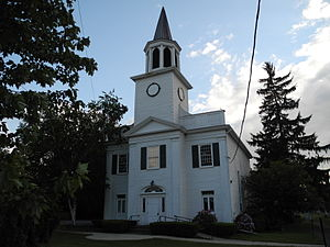 National Register of Historic Places listings in Schuyler County, New York - Image: First Presbyterian Church of Hector, Hector, NY