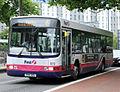 First Somerset and Avon bus 66110 (R910 BOU) 1998 Volvo B10BLE Wrightbus Renown, Bristol, 25 June 2011.jpg