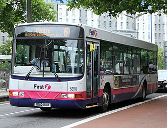 Wrightbus - First Somerset & Avon Wright Renown bodied Volvo B10BLE in Bristol in June 2011
