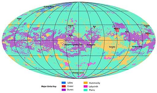 First global geologic map of Titan (PIA23174)
